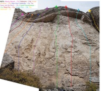 Rock Climbing Photo: Fossil Hill Central (October 2016)