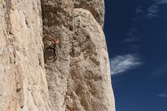 Rock Climbing Photo: Fossil Logic (October 2017)