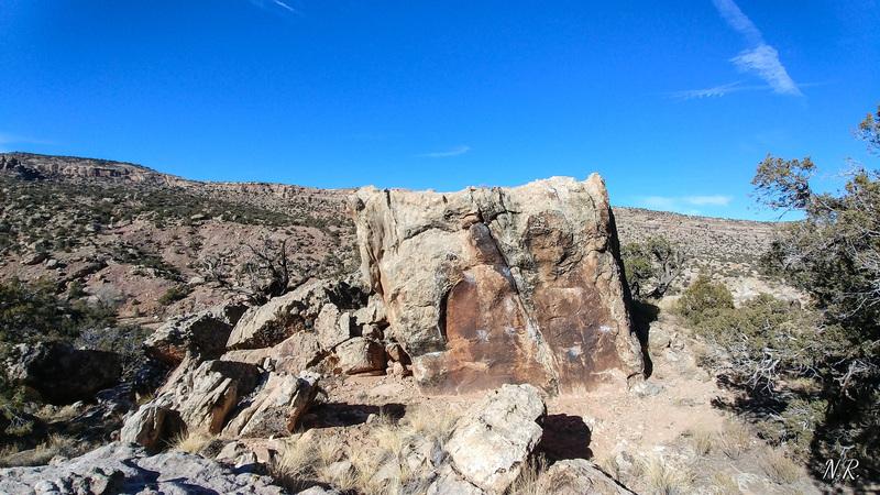 Untrue Burial Boulder.