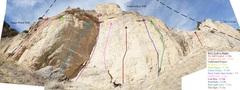 Rock Climbing Photo: Camel Jockey Wall (November 2017)