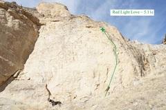 Rock Climbing Photo: Red Light Love (November 2017)
