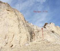 Rock Climbing Photo: The Ogre (November 2017)