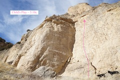 Rock Climbing Photo: Child's Play (November 2017)