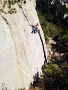 Rock Climbing Photo: I think I saw Tahquitz from this rock... Maybe I s...