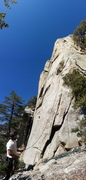 Rock Climbing Photo: This was a pretty fun route.  Being lost in the Id...