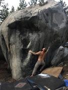 Rock Climbing Photo: Strange Brew Sit