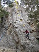 Rock Climbing Photo: Lin on Toto'