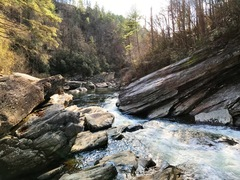 Rock Climbing Photo: Some beautiful riverside boulders