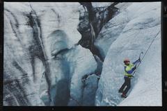 Iceland, Solheimajokull glacier