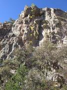 Rock Climbing Photo: long shot of route