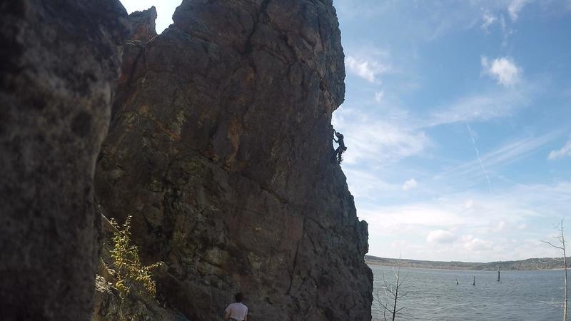 Great Moderate Climb!