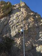 Rock Climbing Photo: Lin Murphy Chumming for Gumbies.