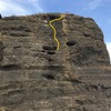 5th and last pitch. Yellow line 5.11