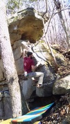 Rock Climbing Photo: Aaron working through edges on Right Ventricle. Th...
