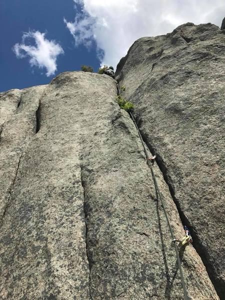 Right climb.