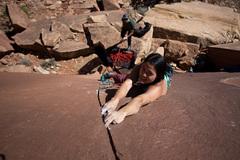 Photo by Anthony Johnson <br />Climber Tersa Nguyen