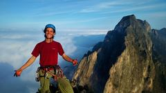 Rock Climbing Photo: top of time wave zero