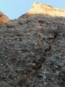 Rock Climbing Photo: Sweet Semtex follows the quickdraws in the photo. ...