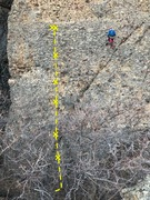 Rock Climbing Photo: Sweet Semtex is between Noah (who is drilling a ne...