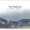 Flatirons panorama with names of formations.  Available at http://flatironsposter.com. Download to your phone for quick reference when you're hiking around!