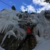 Mixed climbing.