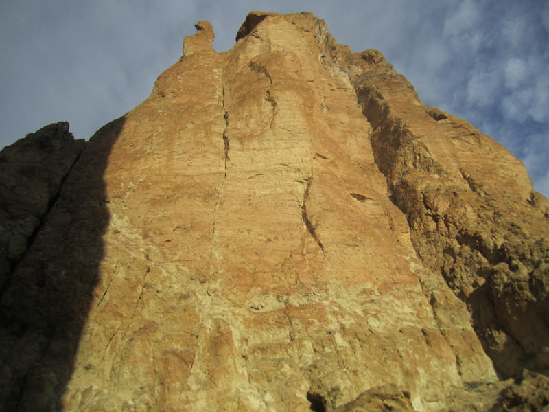 Winter light on Anglin's Buttress