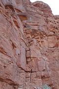 Rock Climbing Photo: The start of pitch 1.