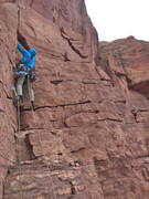 Rock Climbing Photo: At the start of P2.