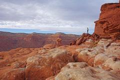 Rock Climbing Photo: On the summit plateau.
