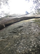 After the crux, the mental crux is the top out..... if u didn't set the anchor yet ;)