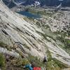 grassy goat trail