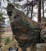 Rock Climbing Photo: Heartbreak Repair Shop, V7-8.