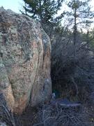 Rock Climbing Photo: Forest Spirit, V5.