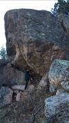Rock Climbing Photo: A very big, very hard project. Mortals need not ap...