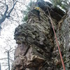 """Doug up high on """"Grotesque Features"""" Rickety Rib 12-02-17."""