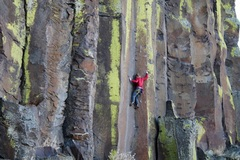 Another pic from the first ascent