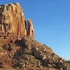 The Bluff Member, seen from the wash of the Roundhouse Canyon to the north.