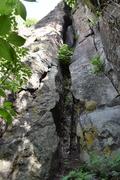 Start of the climb