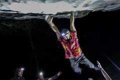 Rock Climbing Photo: Splash Time