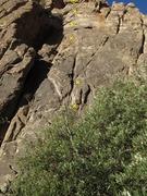 Rock Climbing Photo: Rack Enhancement w bolts marked.