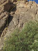 Rock Climbing Photo: Both bolts marked