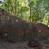 5 lines on The Blade boulder