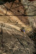 Rock Climbing Photo: The upper corner