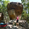 High ball boulder in The Ridge Section