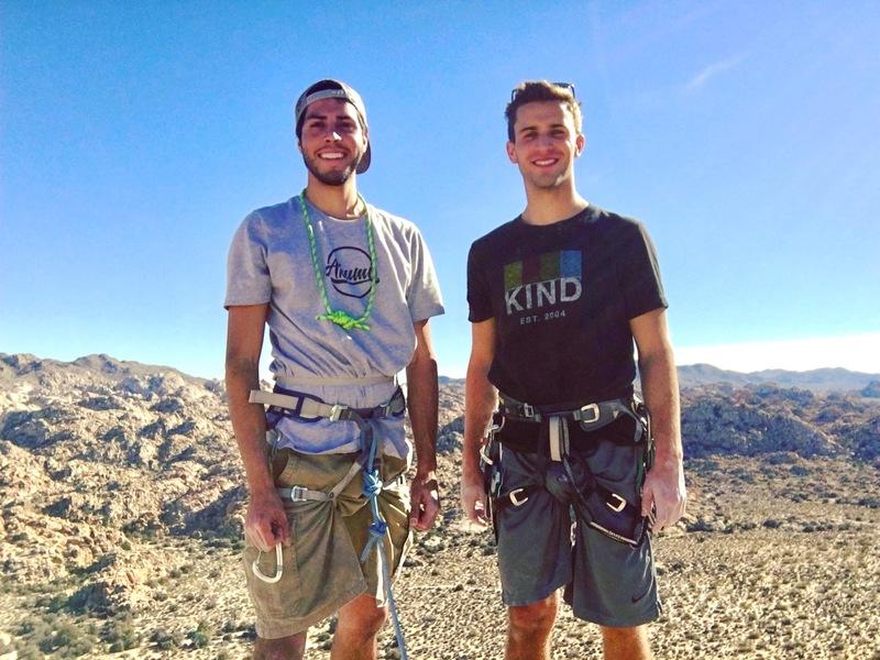 Summit selfie with Trever.