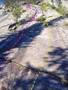 Dirt Circus (purple) and Magic Bus (yellow) on 3 O Clock Rock