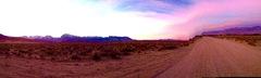 East Side sunset time warp!