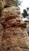 Rock Climbing Photo: Mental Hopscotch.