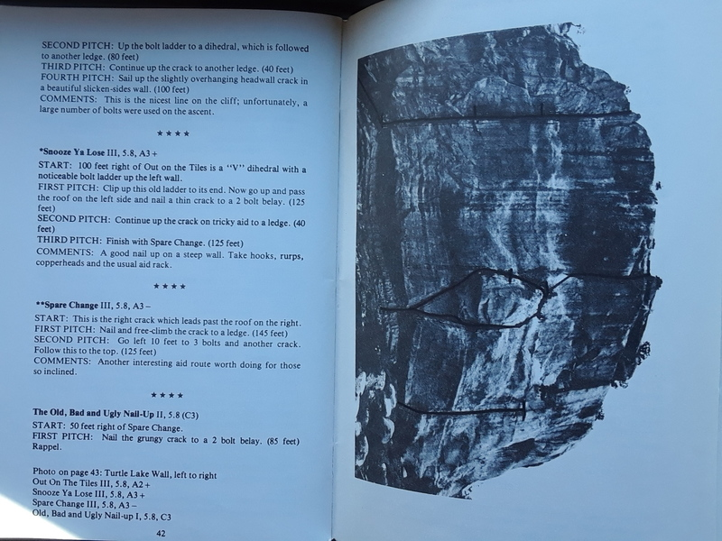 "Pages 42 and 43 of ""Southwest Rock""."