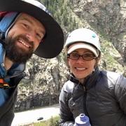 Introducing Liz to Colorado climbing